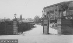 Entrance To The Centre Court 1961, Wimbledon