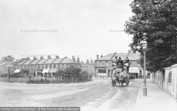 Photo of Wimbledon, Horse Bus In Garratt Lane At Junction With Wimbledon Road 1900