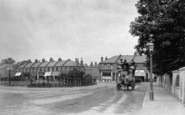 Wimbledon, Horse Bus In Garratt Lane At Junction With Wimbledon Road 1900