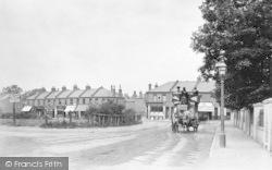 Horse Bus In Garratt Lane At Junction With Wimbledon Road 1900, Wimbledon