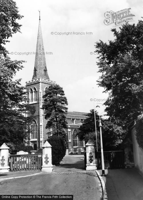 Photo of Wimbledon, Parish Church c.1960