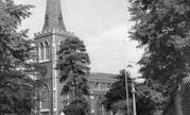 Wimbledon, Parish Church c.1960