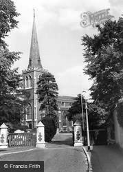 Wimbledon, Parish Church c.1960