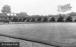 Park, Bowling Green c.1955, Wimbledon