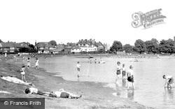 Rushmere Pond c.1955, Wimbledon