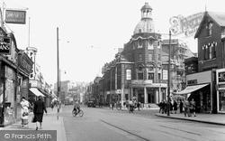 The Broadway c.1952, Wimbledon