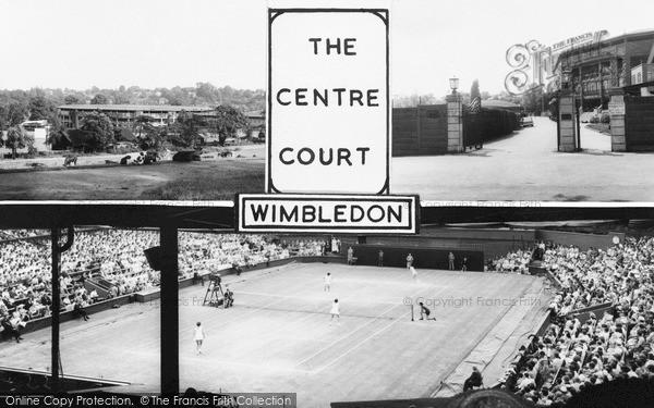 Photo of Wimbledon, The Centre Court c.1965