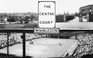 Wimbledon, The Centre Court c.1965