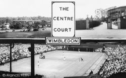 The Centre Court c.1965, Wimbledon