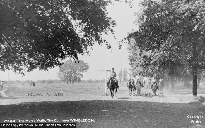 Photo of Wimbledon, The Horse Walk, The Common c.1955