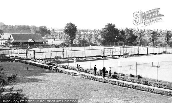 Photo of Wimbledon, The Tennis Courts, The Park c.1955