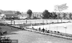 The Tennis Courts, The Park c.1955, Wimbledon