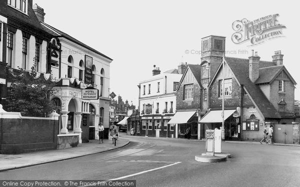 Photo of Wimbledon, The Village c.1955