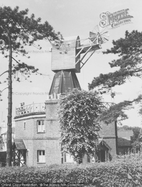 Photo of Wimbledon, The Windmill c.1960