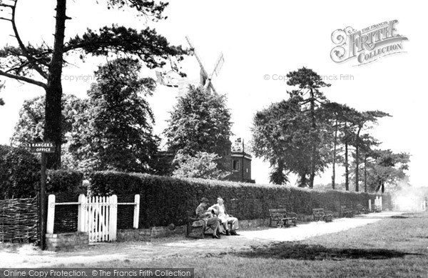 Photo of Wimbledon, The Windmill, The Common c.1955