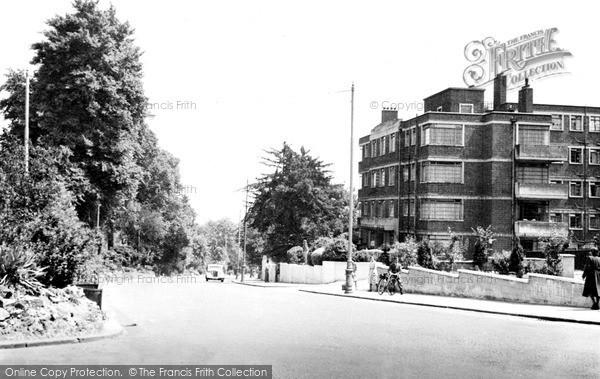 Photo of Wimbledon, Wimbledon Hill Road c1955