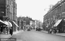 Wimbledon Hill Road c.1955, Wimbledon