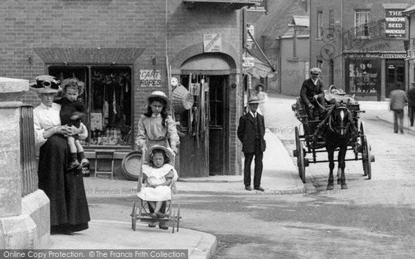 Photo of Wimborne, A Busy Day In East Brook 1908