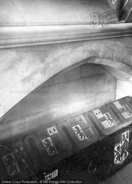 Photo of Wimborne, Anthony Etricke's Coffin 1886