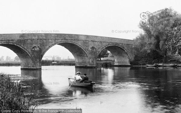 Photo of Wimborne, Boating At Canford Bridge 1904