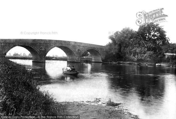 Photo of Wimborne, Canford Bridge 1904