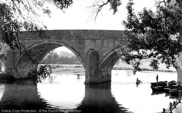 Photo of Wimborne, Canford Bridge c.1955