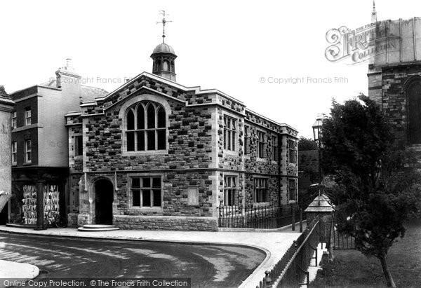 Photo of Wimborne, Church House 1908