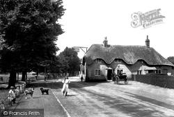 Wimborne, Coach And Horses 1908, Wimborne Minster