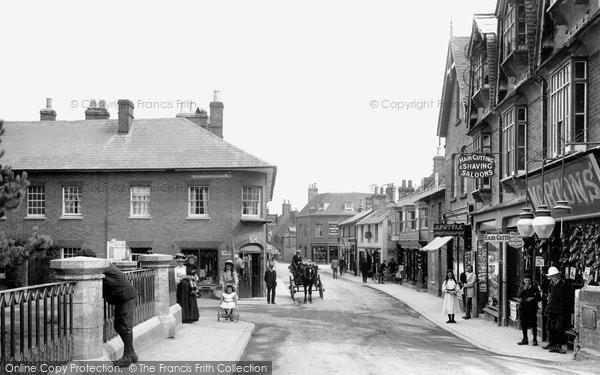 Wimborne, East Brook 1908