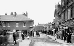 Wimborne, East Brook 1908, Wimborne Minster