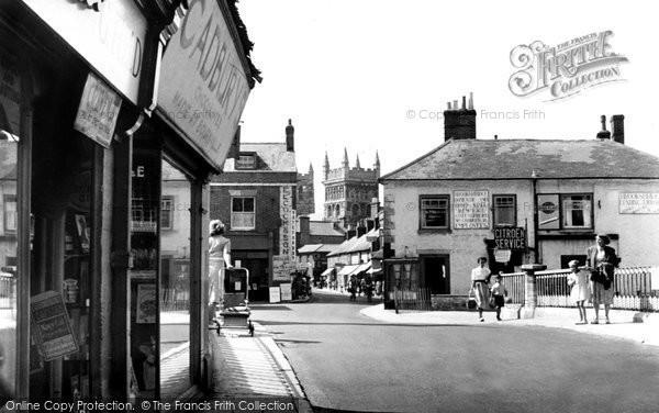 Photo of Wimborne, East Brook c.1955