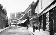 Wimborne, East Street 1904