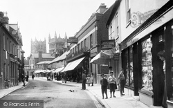Wimborne, East Street 1904, Wimborne Minster