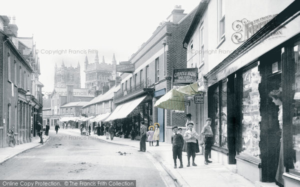 Photo of Wimborne, East Street 1904