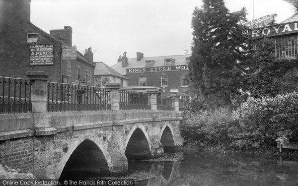 Photo of Wimborne, East Street 1904