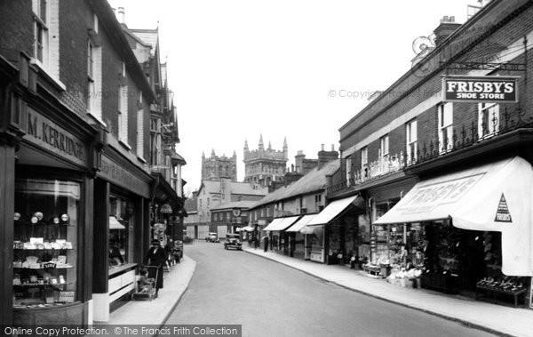 Photo of Wimborne, East Street 1936