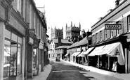 Wimborne, East Street c1955