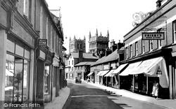 Wimborne, East Street c.1955, Wimborne Minster