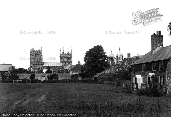 Photo of Wimborne, From The Meadows 1899