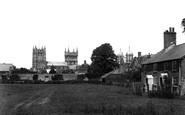 Wimborne, from the Meadows 1899