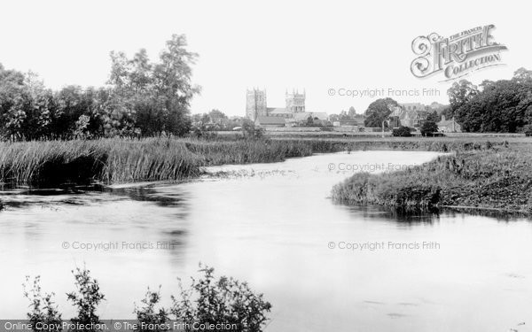 Photo of Wimborne, From The River Frome 1904