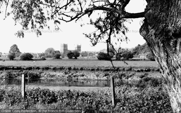 Photo of Wimborne, From The River Stour c.1960