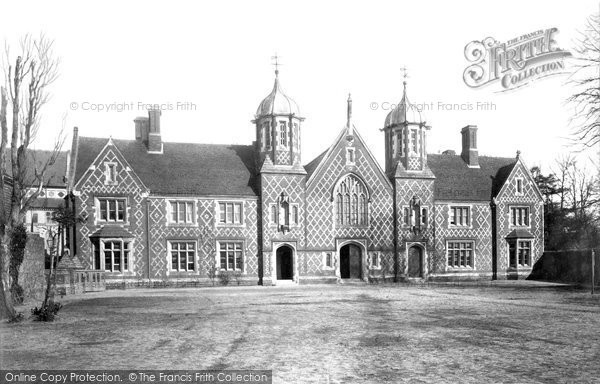 Photo of Wimborne, Grammar School 1886