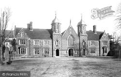 Wimborne, Grammar School 1886, Wimborne Minster