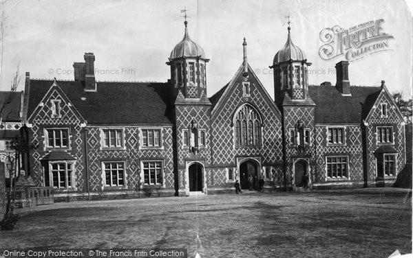 Photo of Wimborne, Grammar School 1886
