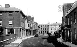 Wimborne, High Street 1892, Wimborne Minster