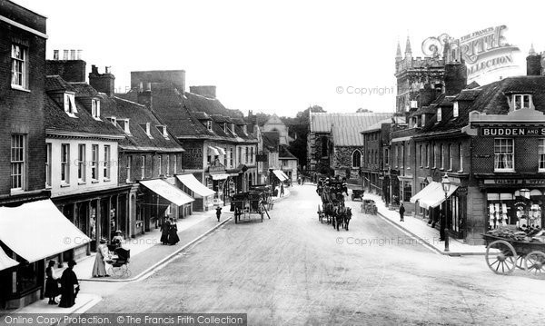 Photo of Wimborne, High Street 1904