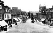 Wimborne, High Street 1904