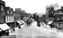 Wimborne, High Street 1904, Wimborne Minster