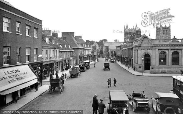 Photo of Wimborne, High Street 1923